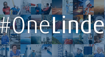 picture shows the #OneLinde canvas with a compilation of Linde's field of expertise